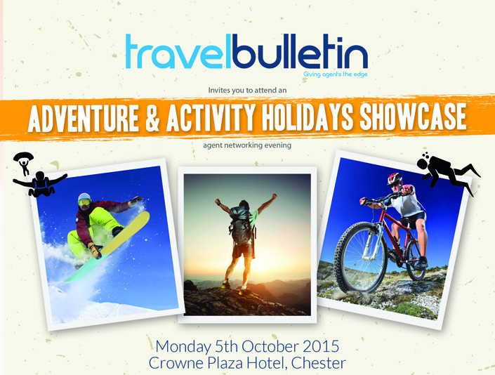 Adventure Activity Showcase Invite