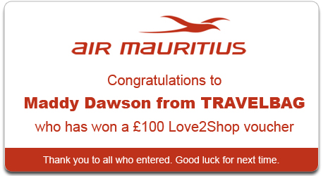 Air Mauritius Competition Winner