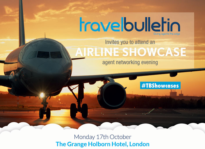 Airline Showcase 17th October London