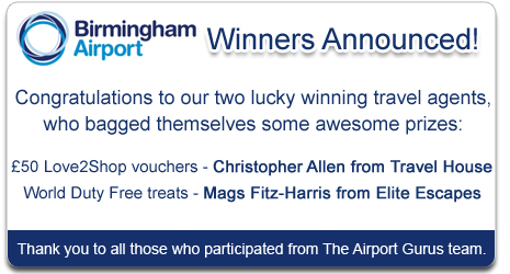 Birmingham Airport Competition Winner