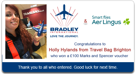 Bradley Airport & Aer Lingus Competition Winner