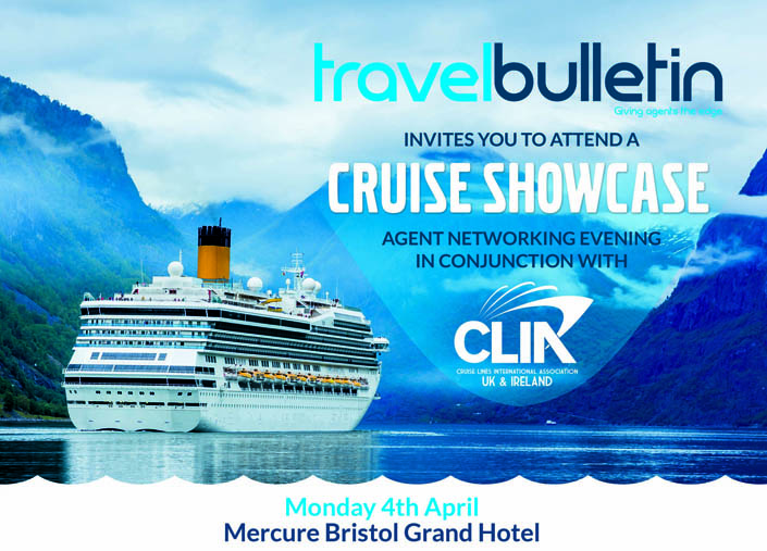 Cruise Showcase 4th April Bristol