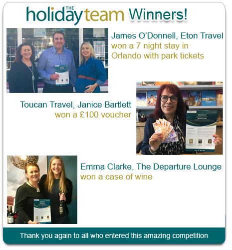HolidayTeam Competition Winner