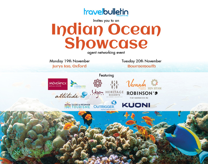 Indian Ocean Showcases - Monday, 19th November bournemouth