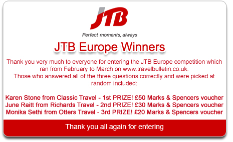 JTB Competition Winner