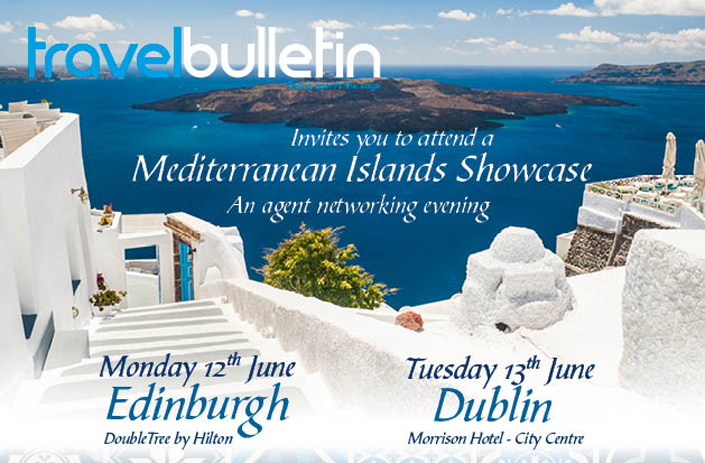 Mediterranean Islands Showcase - Monday 12th June Edinburgh