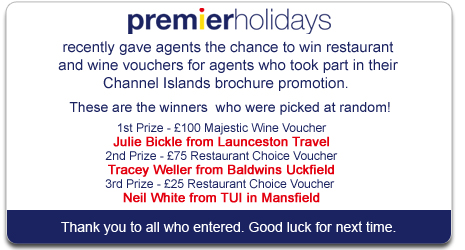 Premier Holidays Competition Winner