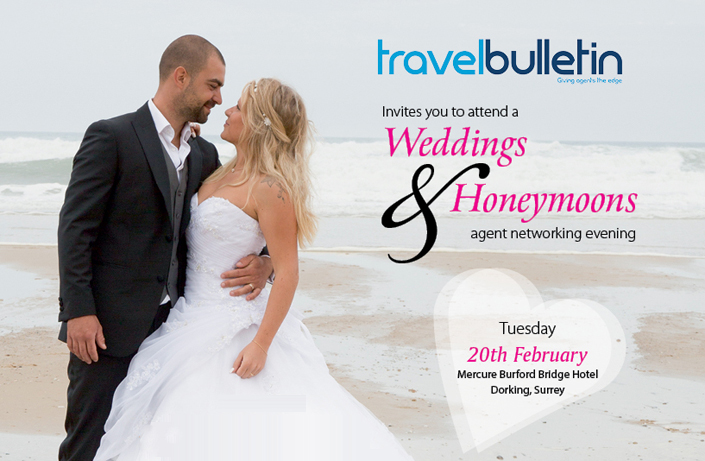 Weddings & Honeymoons Showcases - Tuesday, 20th February Dorking