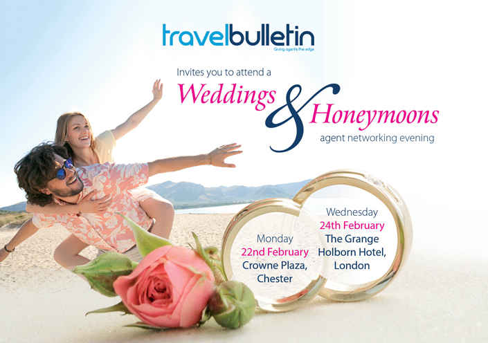 Weddings & Honeymoons Showcase 24th February 2016 London