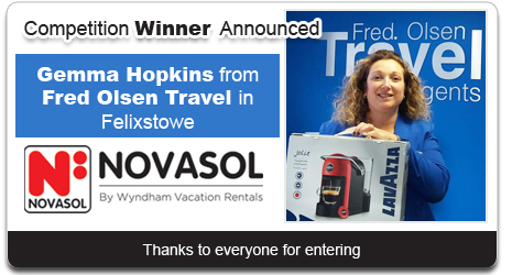Novasol Competition Winner