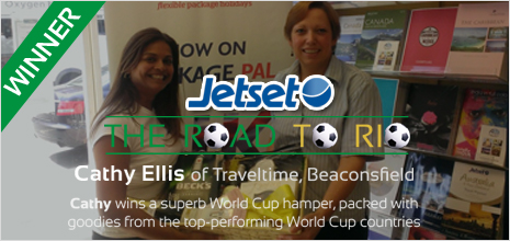 Jetset competition winner july 2014