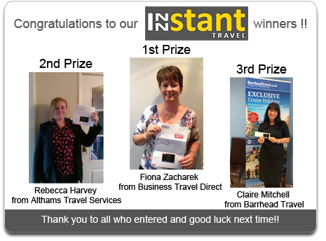 Innstant Travel Competition Winner