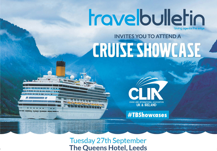 Cruise Showcase 27th September Leeds