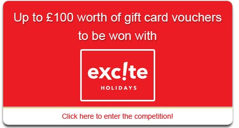 Excite Holidays Competition