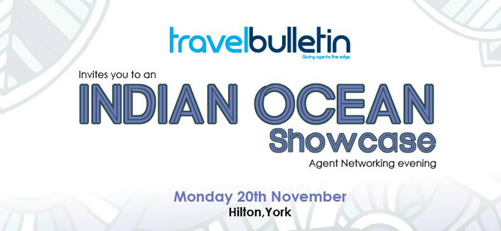 Indian Ocean Showcase - Monday, 20th November York