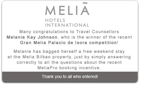 Melia Hotal Competition Winner