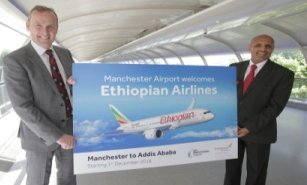 Ethiopian Airlines to begin Manchester service from December