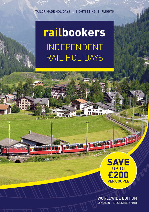 Railbookers issues 2018 Independent Rail Holidays Programme