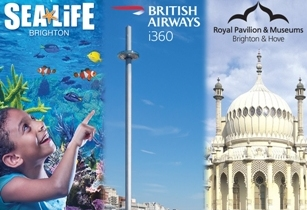 Top Brighton attractions on Combi-Saver tickets for half term