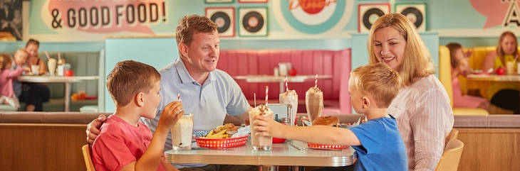 Butlin's launches new menu at The Diner