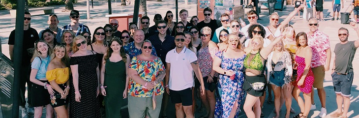Carnival takes 50 agents on an all-expenses-paid trip to Ibiza