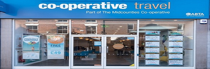 Central England Co-operative to transfer 16 travel branches to Midcounties Co-operative