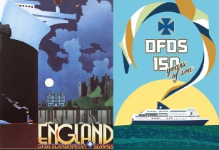 Design an anniversary poster for DFDS competition