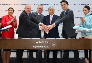 Delta & Korean Air to launch joint venture partnership