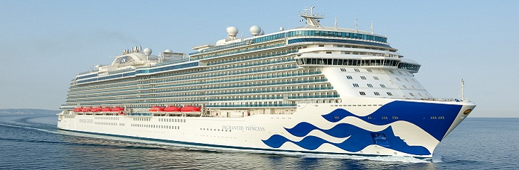Enchanted Princess successfully completes sea trials after maiden voyage