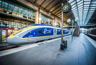 Eurostar 'riding high' for Christmas getaway