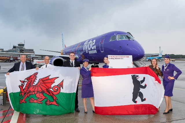 Flybe Cardiff