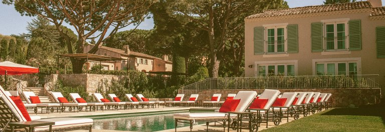 Hotel Lou Pinet in Saint-Tropez to re-open in May