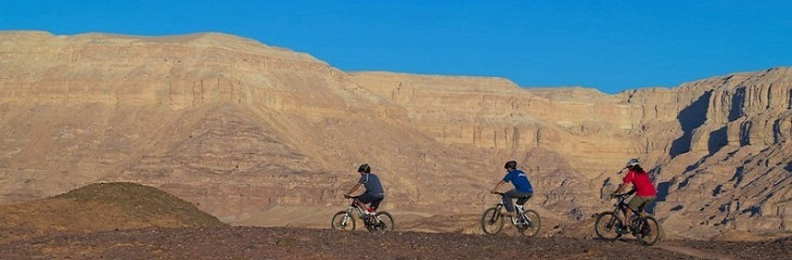 Road to Israel: a cyclist's heaven