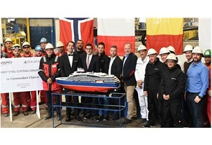 Ponant commences construction of polar exploration vessel Le Commandant Charcot