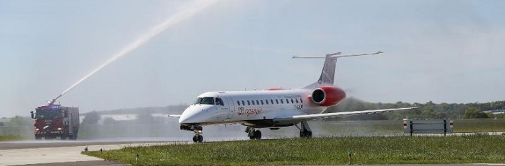 Loganair starts direct flights between London and Aberdeen