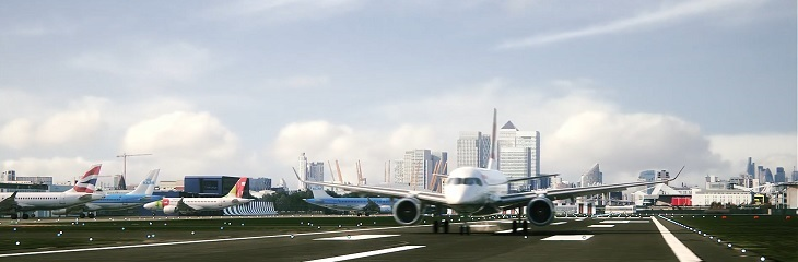 London City Airport's new animation video reveals future passenger experience