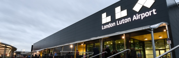 London Luton Airport serves 17 million passengers