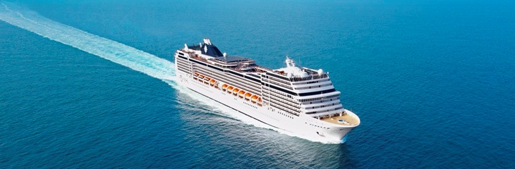 The MSC Grandiosa has started week-long sailings in Italy