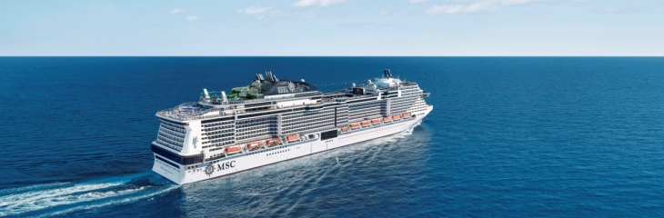 MSC Grandiosa to star in new TV series The Nolans Go Cruising