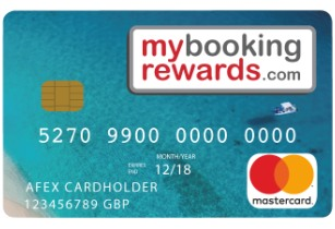 Global launch of agent Mastercard from MyBookingRewards