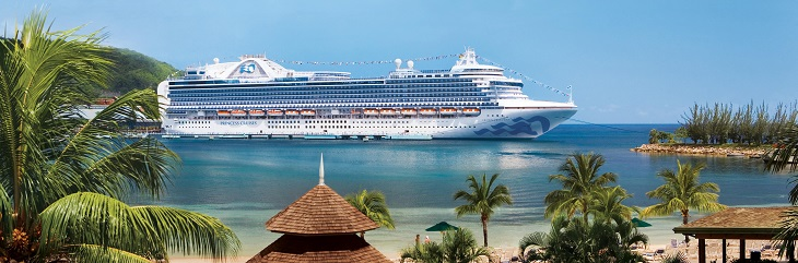 Princess Cruises offers trips from £499 and onboard savings package
