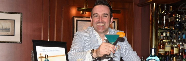 Princess Cruises launches new 'Sapphire Princess' cocktail