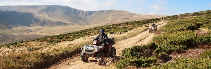 British holidaymakers at risk by hiring mopeds and quad bikes