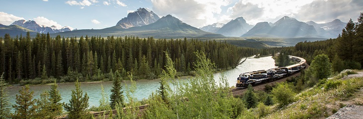 Win two spaces on board the Rocky Mountaineer