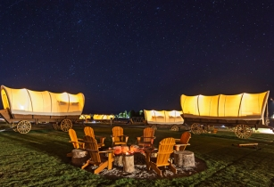 Ranch Rider introduces 'Western Wagon' glamping in Wyoming