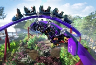 Ride the waves with SeaWorld's new duelling rollercoaster