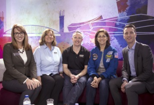 Astronaut lands for launch of Travel Counsellors' TC Talks