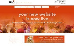 Titan Travel launches dedicated trade website
