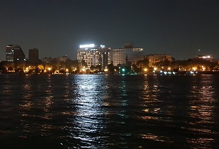 nile river at night WTM