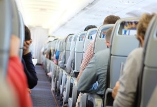 One in three Brits would welcome quiet zones introduced on flights